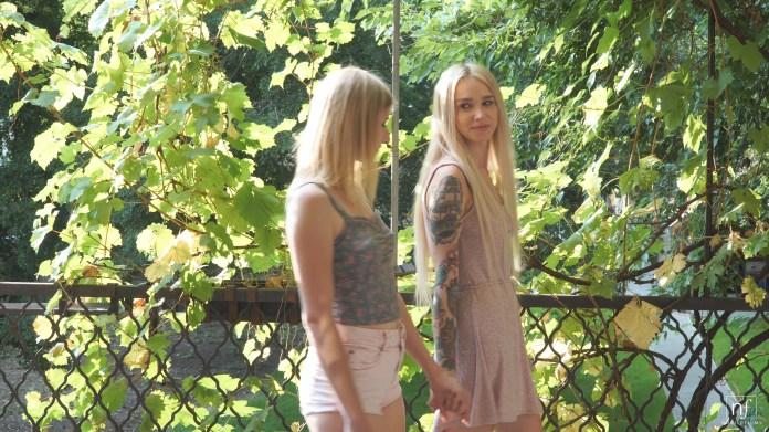 NubileFilms.com - Aria Logan,Arteya: Teasing The Clit - S30:E11