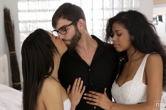 NubileFilms.com - Logan Long,Maya Bijou,Nia Nacci: Two To Please - S27:E7