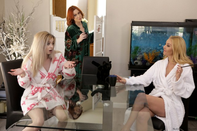 NubilesET.com - Aaliyah Love,Lexi Lore: Sabrina Grows Up Some Kind Of Magic - S1:E9