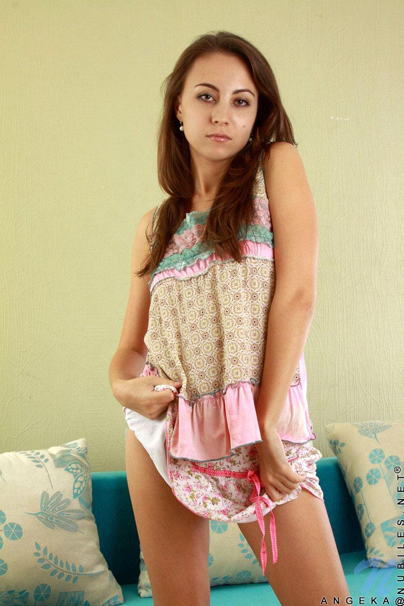 Nubilesnet  featuring Nubiles Angeka in covergirl