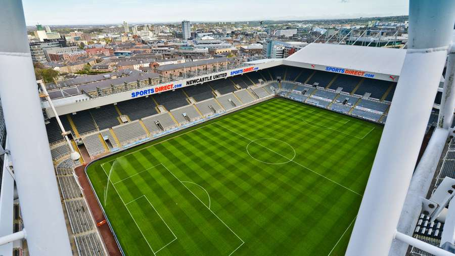 Newcastle United  Stadium Plan  Visitors Guide