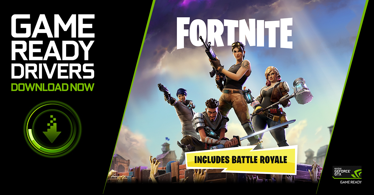 Fortnite Game Ready Driver Released GeForce