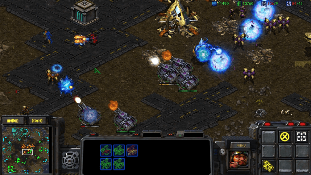 starcraft remastered releases on