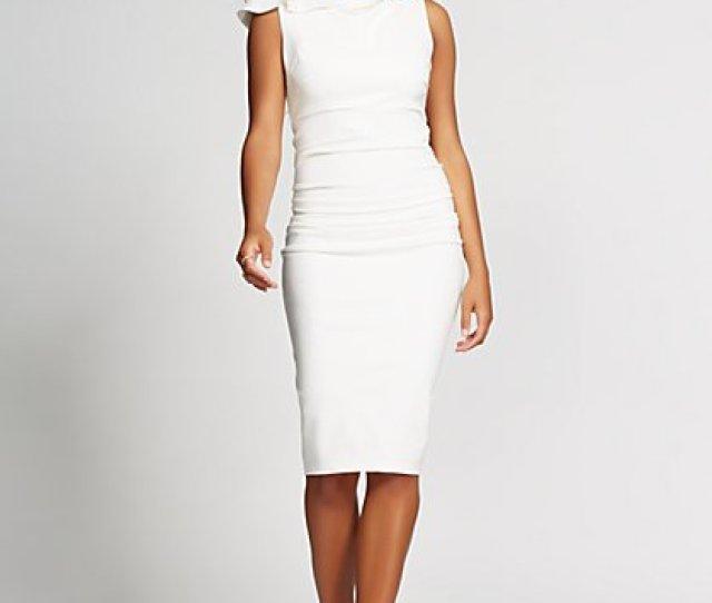 Shirred Sheath Dress Gabrielle Union Collection New York Company