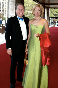 CIT CEO Jeff Peek and his wife, Liz Peek
