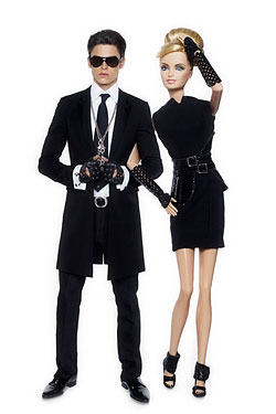 Karl Lagerfeld Has Turned Himself Into a Ken Doll