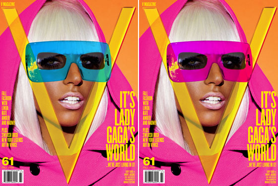 Exclusive: Lady Gaga's September V Covers and a Sneak Peek at Her Fashion Spread!