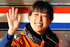 Japanese Astronaut Dons Custom-Designed Cardigan for Space