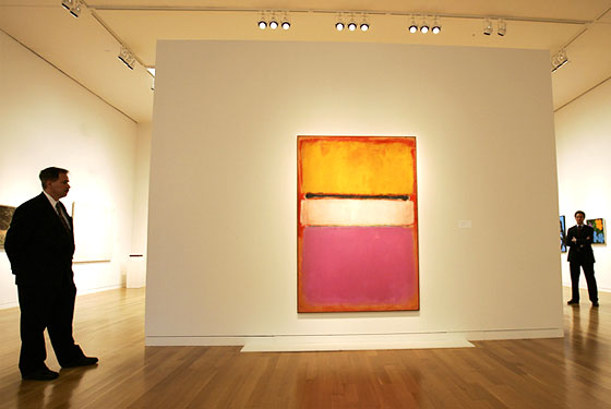 Who Actually Bought the Rothko Hint The Times Was