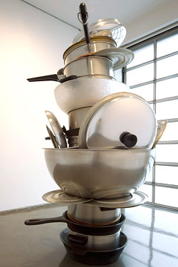 Artist Robert Therrien Could Probably Use a New Dishwasher