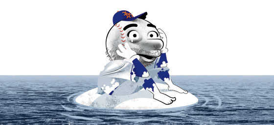 Image result for mets won't spend   cartoons