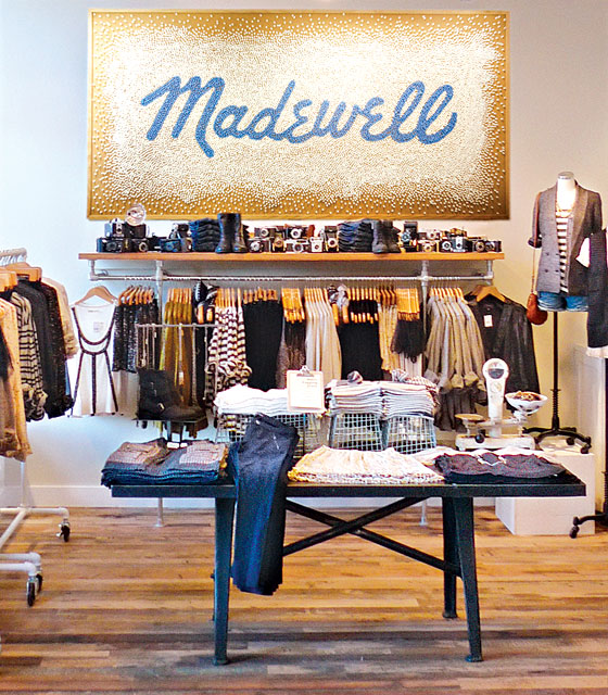 Madewell Unveils Its Largest Outpost in the Flatiron