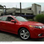 2014 Acura Tsx Sport Wagon In Milano Red 000406 Nysportscars Com Cars For Sale In New York