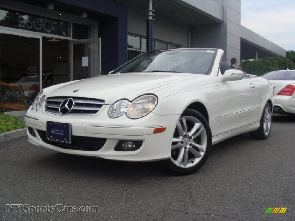 medium resolution of alabaster white ash mercedes benz clk 350 cabriolet