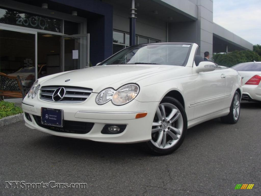 hight resolution of alabaster white ash mercedes benz clk 350 cabriolet
