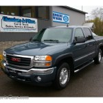 2006 Gmc Sierra 1500 Slt Z71 Crew Cab 4x4 In Stealth Gray Metallic 166763 Nysportscars Com Cars For Sale In New York