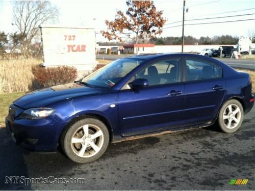 small resolution of 2005 mazda3 i sedan strato blue mica black photo 1