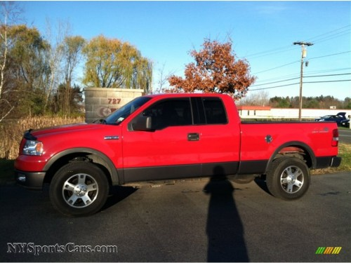 small resolution of bright red black ford f150 fx4 supercab 4x4