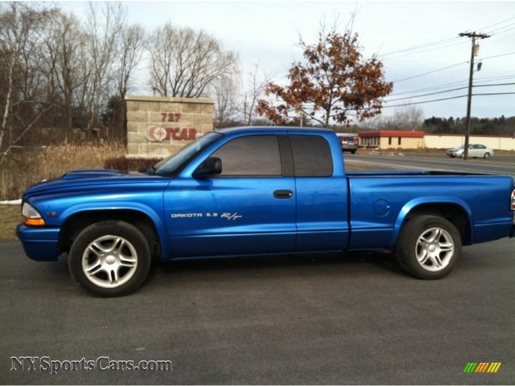 hight resolution of intense blue pearl dark slate gray dodge dakota sport club cab 2001
