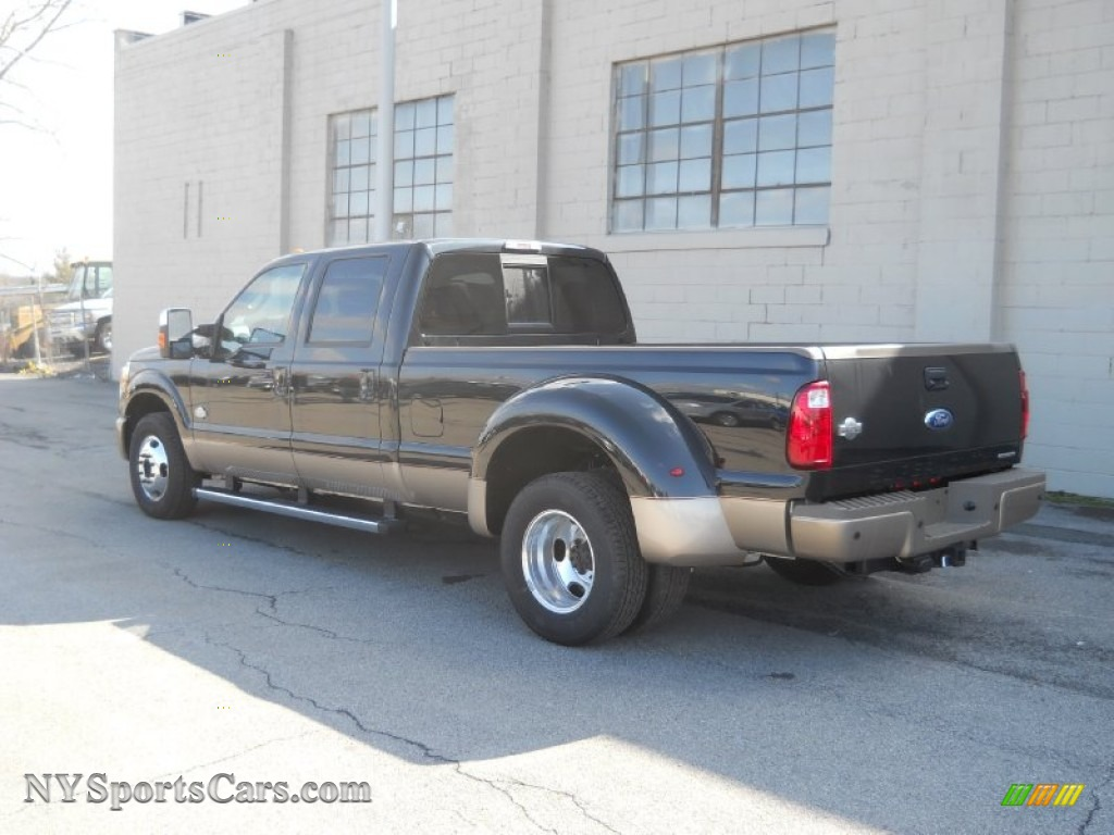hight resolution of 2012 f350 super duty king ranch crew cab dually tuxedo black metallic chaparral leather