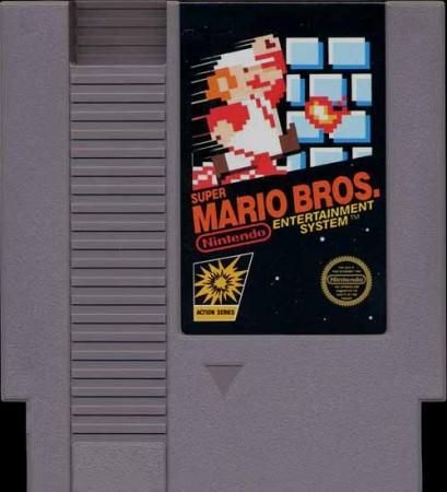 Cartucho de Super Mario Bros