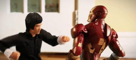 Bruce Lee vs Ironman