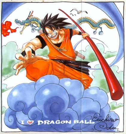 Dragon Ball estilo One Piece