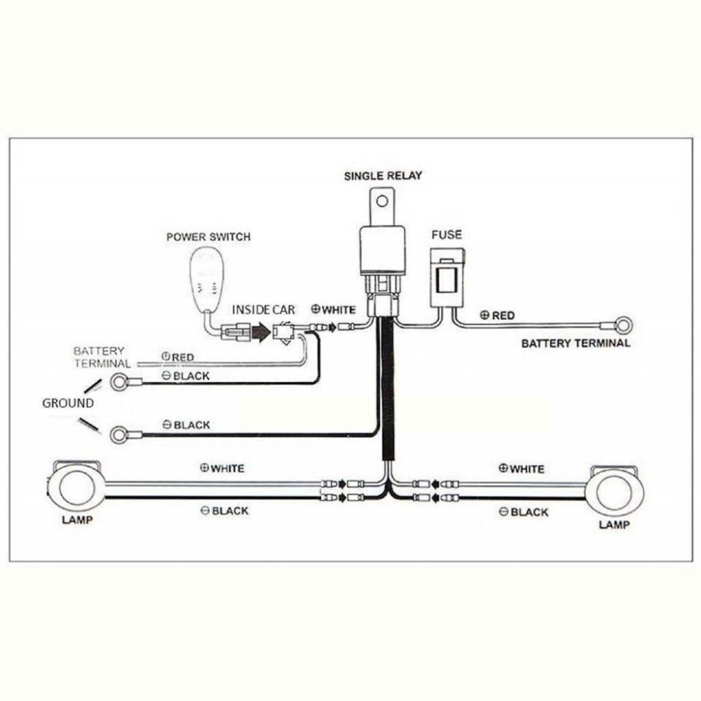 medium resolution of halo led angel eye daytime running lights relay wiring harness on off switch kit