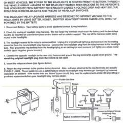 Headlight Socket Wiring Diagram 1974 Vw Bus Ceramic H4 Relay Harness 2 Headlamp Light Bulb Click Thumbnails To Enlarge