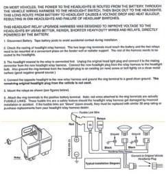 ceramic h4 headlight relay wiring harness 2 headlamp light bulb socket plugs 7x6 [ 1600 x 1600 Pixel ]