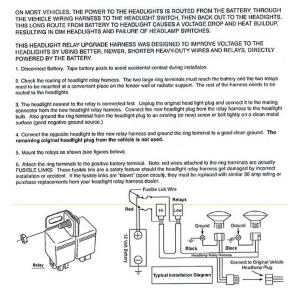 medium resolution of ceramic h4 headlight relay wiring harness 2 headlamp light bulb socket plugs 7x6