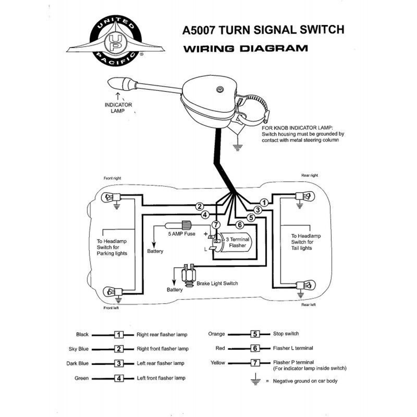 hight resolution of wrg 1635 hot rod brake light wiring diagram12 volt chrome steel turn signal flasher switch