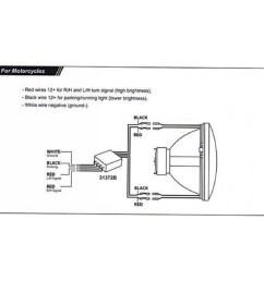 motorcycle led headlight wiring diagram [ 1600 x 1600 Pixel ]