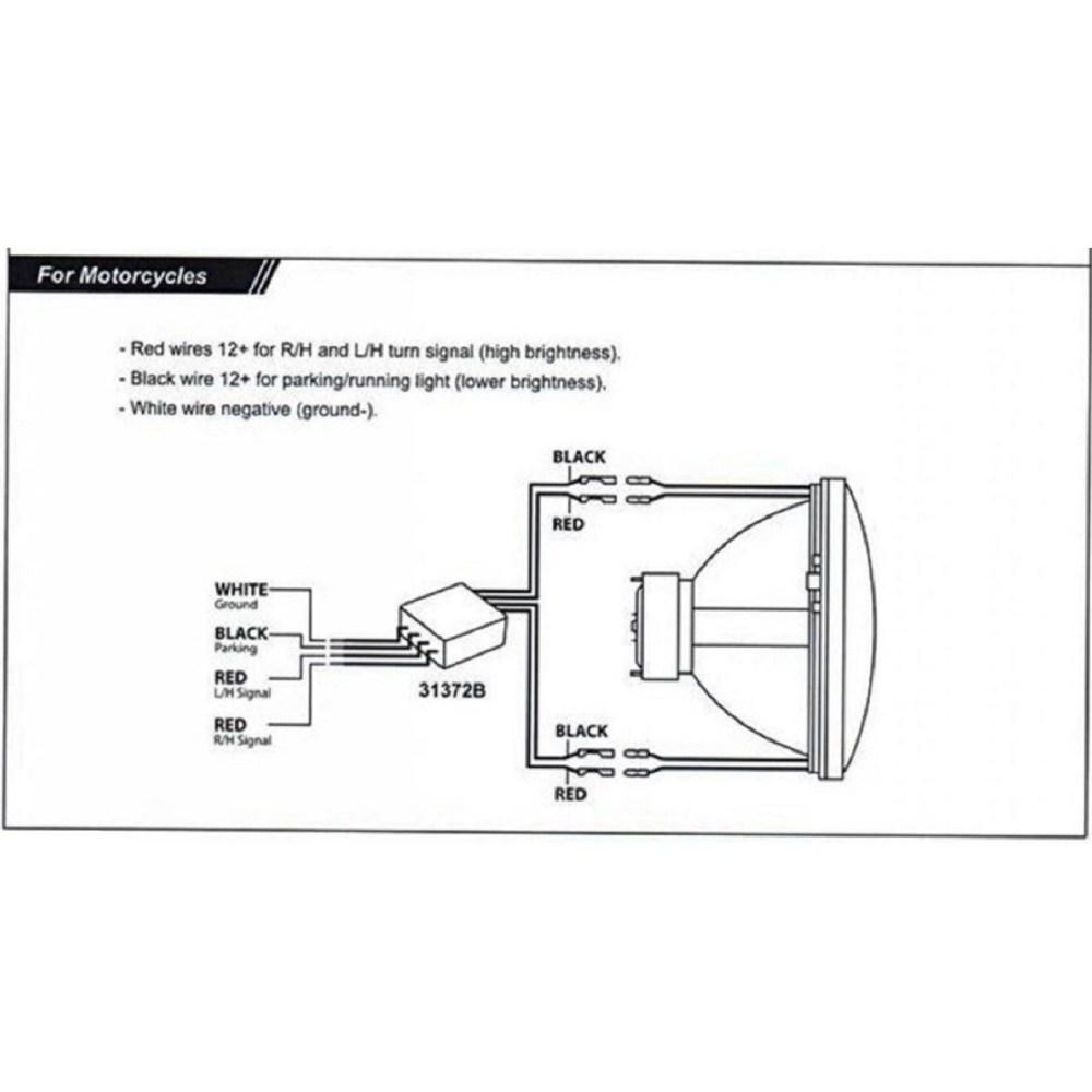 medium resolution of motorcycle led headlight wiring diagram
