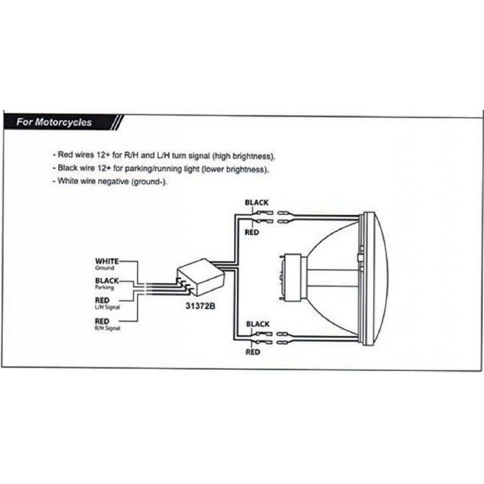 hight resolution of motorcycle led headlight wiring diagram