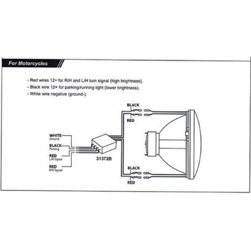 small resolution of motorcycle led headlight wiring diagram