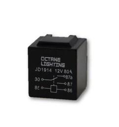 12v 80a automotive car dimmer headlight wiring harness switch standard relay [ 1600 x 1600 Pixel ]