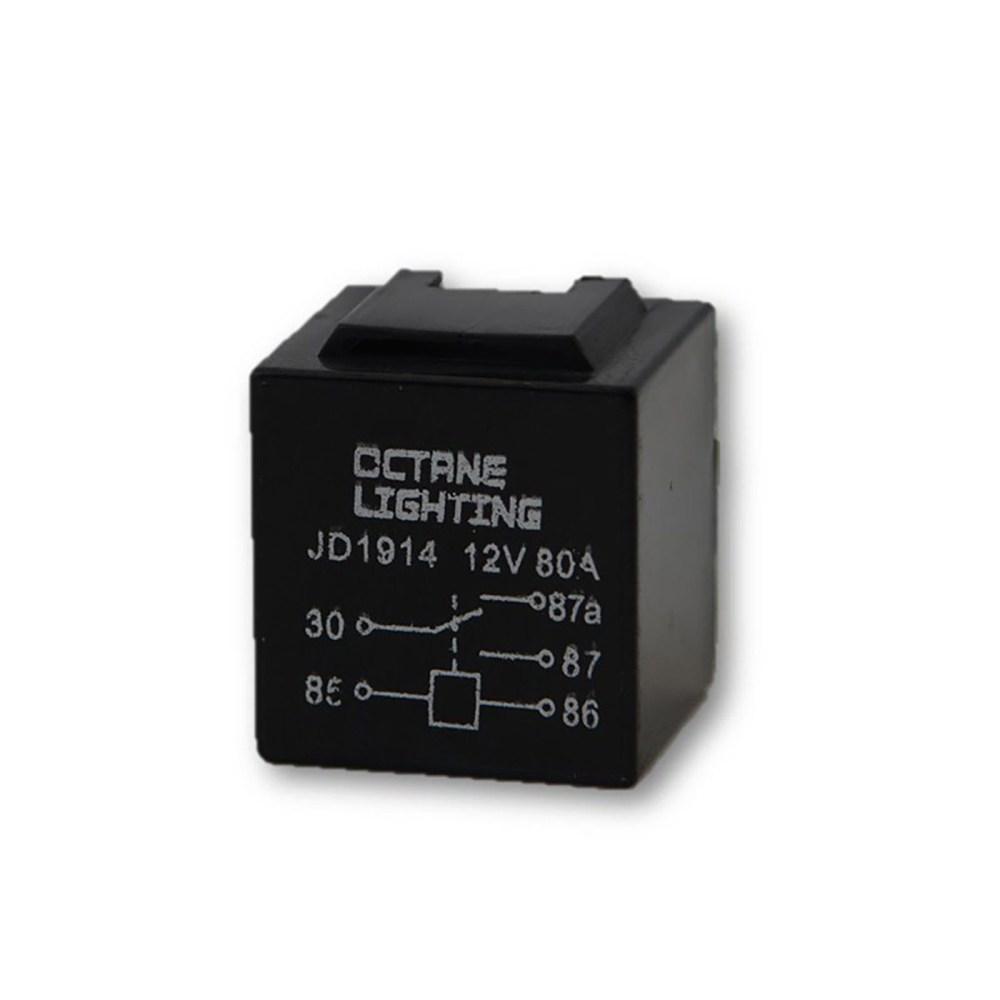 medium resolution of 12v 80a automotive car dimmer headlight wiring harness switch standard relay