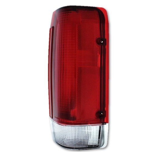 small resolution of details about 87 88 89 ford f 150 250 styleside truck bronco tail light lens assembly right