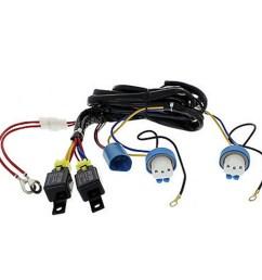 h4 9007 headlight headlamp relay harness wiring 12v kit [ 1600 x 1600 Pixel ]