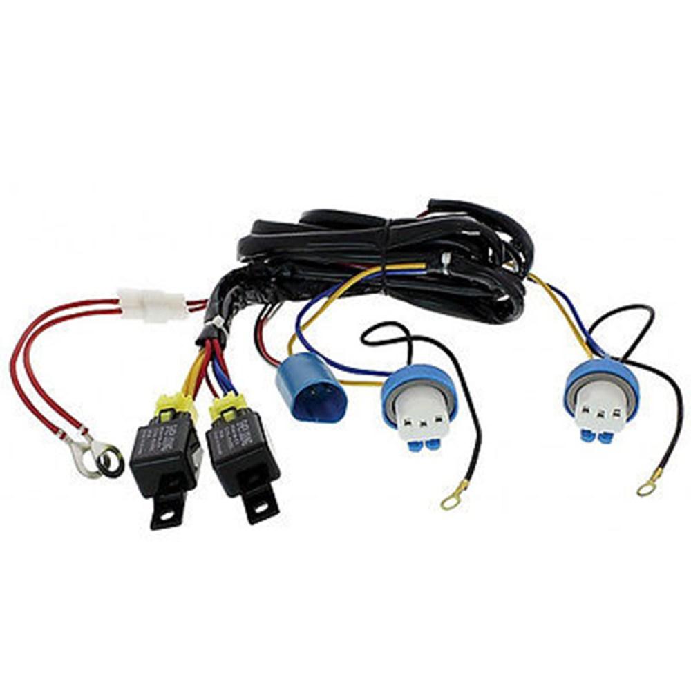 medium resolution of h4 9007 headlight headlamp relay harness wiring 12v kit