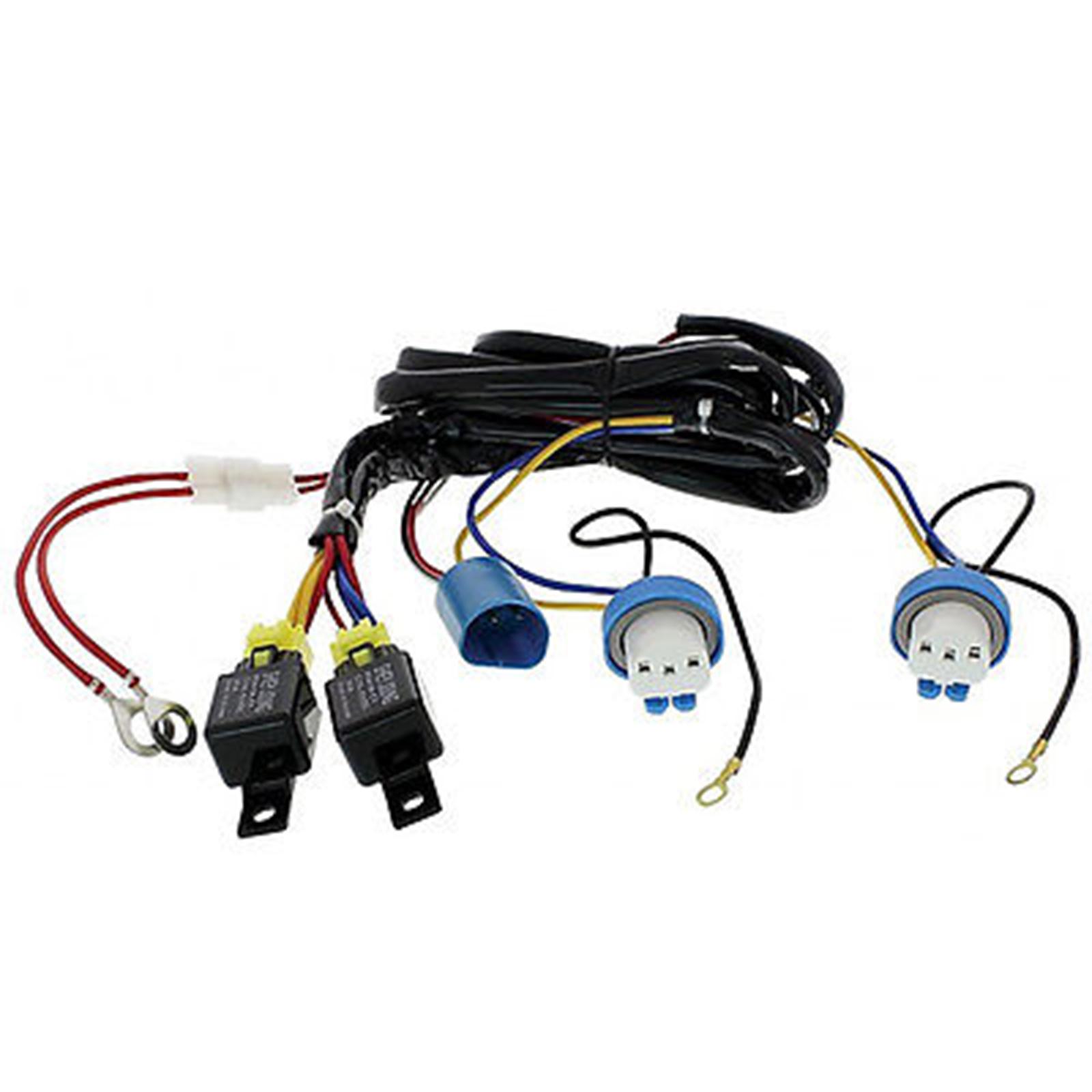 hight resolution of h4 9007 headlight headlamp relay harness wiring 12v kit