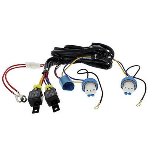 small resolution of h4 9007 headlight headlamp relay harness wiring 12v kit