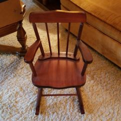 Kids Wood Rocking Chair Best Deer Blind Chairs Wooden For Sale In Mequon Wi Offerup