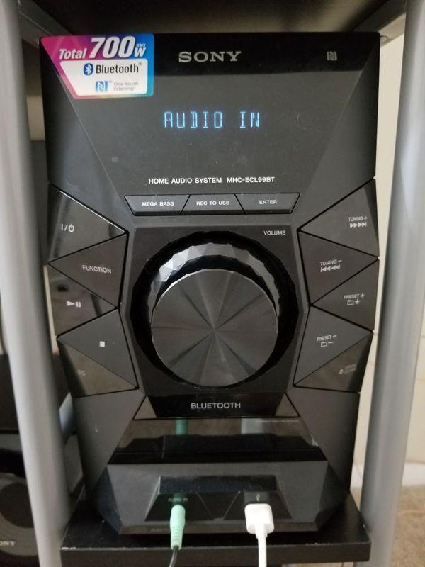 Sony Mhc Ecl99bt : ecl99bt, Mhc-ecl99bt, Burnie,, OfferUp