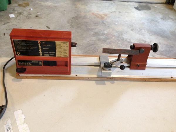 Mcgraw Edison Lathe Model 76100 A