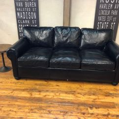 72 Lancaster Leather Sofa Red What Color Curtains Restoration Hardware 7 Classic Brompton Ebony