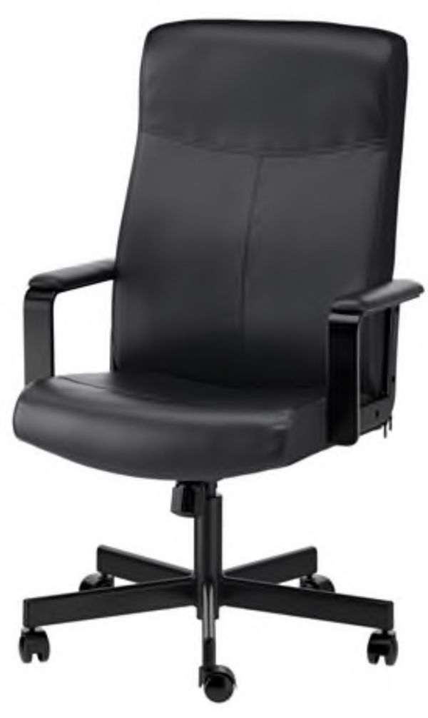 ikea rolling chair gym dvd set millberget in black for sale miami fl offerup