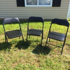 Folding Kentucky Chair Highwood Adirondack Reviews 3 Metal Chairs For Sale In Radcliff Ky Offerup