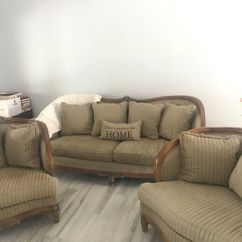 Living Room Sets In Miami Fl Colours For Walls Karpen Set With Marble Side Table Sale